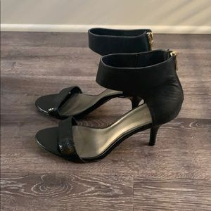 Audrey Brooke ankle strap heels